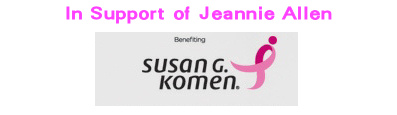 In Support of Jeannie Allen