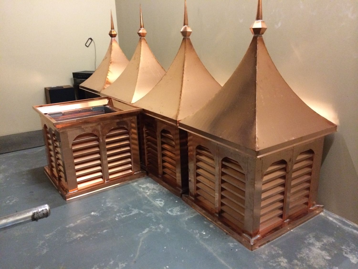Copper Project by Allen Sheet Metal