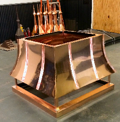 Copper Project by Allen Sheet Metal, Tulsa, OK