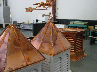 Copper work by Allen Sheet Metal