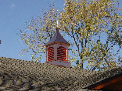 Copper Chimney by Allen Sheet Metal